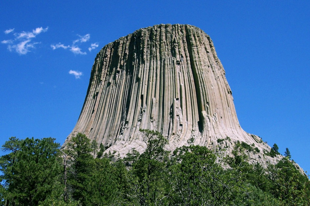 Devils Tower from Close encounter of the 3rd kind :)