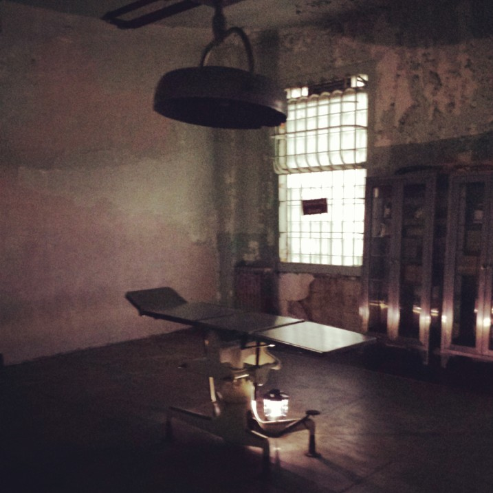 operating room at Alcatraz Island