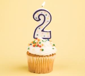 Happy 2nd Birthday!