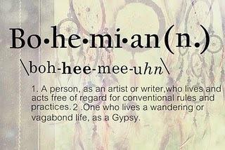 Define-Bohemian