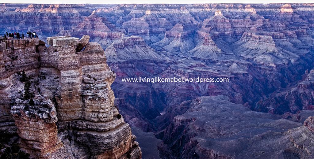 The Grand Canyon Christmas Evening 2011