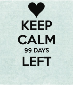 keep-calm-99-days-left