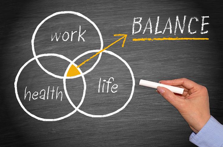 work life balance web